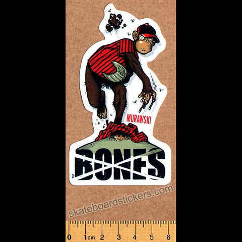 Bones Wheels Skateboard Sticker - SkateboardStickers.com