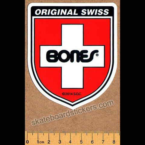 Bones Bearings Skateboard Sticker - SkateboardStickers.com