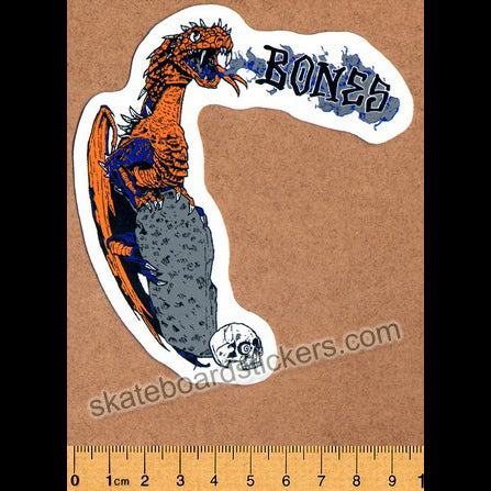 Bones Wheels - Lockwood Dragon Skateboard Sticker