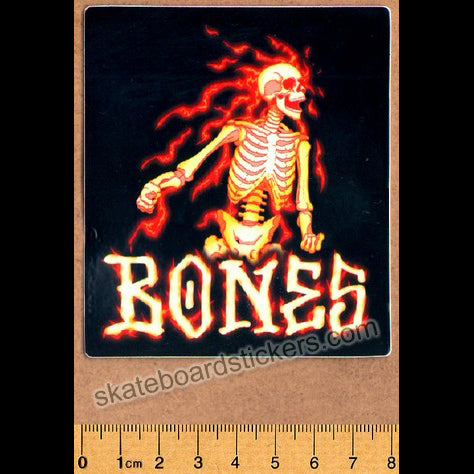 Bones Skateboard Sticker - Blazer