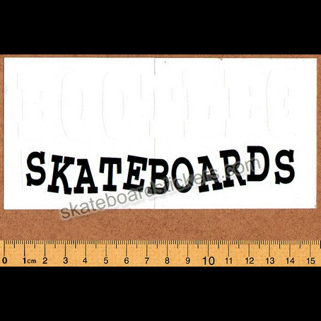 Bootleg Skateboard Sticker - SkateboardStickers.com