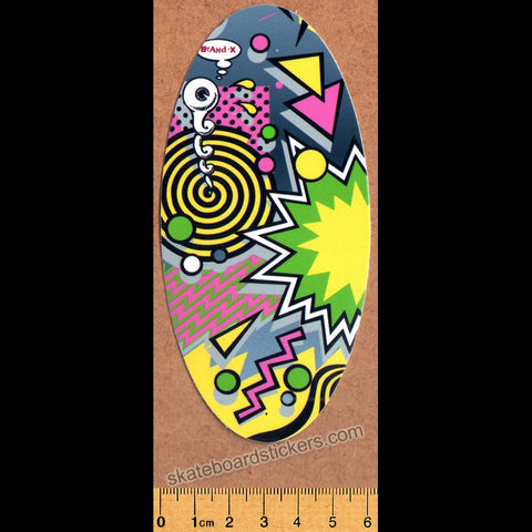 Brand-X Skateboard Sticker - Weirdo 2