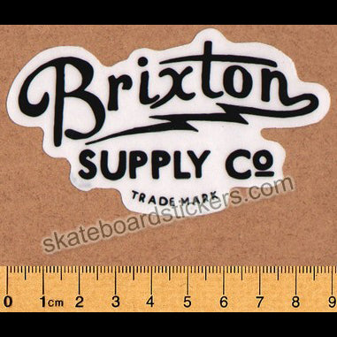 Brixton Skateboard Sticker