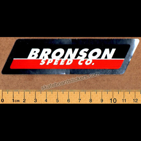 Bronson Speed Co Skateboard Bearings Sticker - SkateboardStickers.com