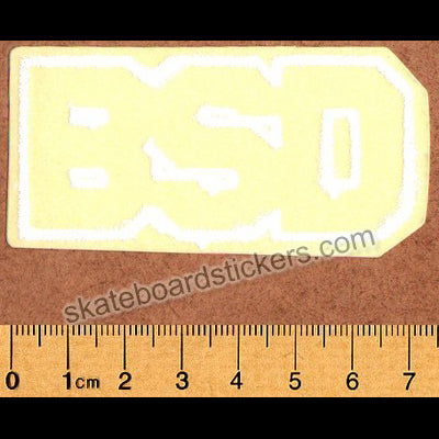 BSD Logo BMX Sticker