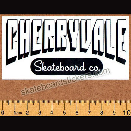 Cherryvale Skateboard Co. Skateboard Sticker