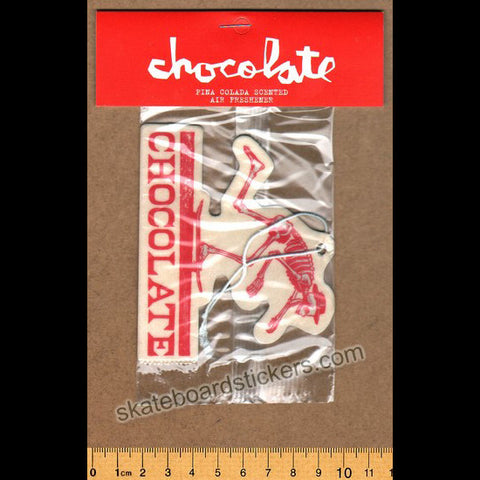 Chocolate Air Freshener - El Chocolate - SkateboardStickers.com