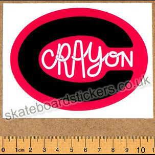 Crayon Skateboard Sticker - SkateboardStickers.com