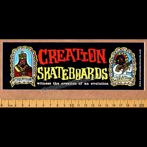 Creation Skateboard Sticker - SkateboardStickers.com