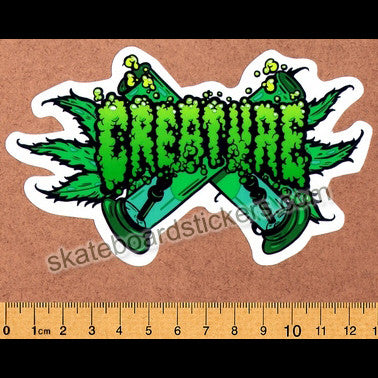 Creature Skateboard Sticker - SkateboardStickers.com