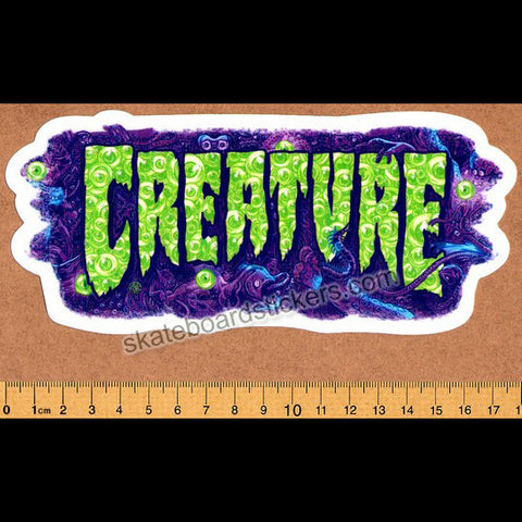 Creature Detox Skateboard Sticker - SkateboardStickers.com