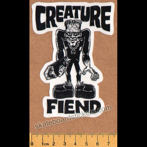 Creature Frankenfiend Skateboard Sticker