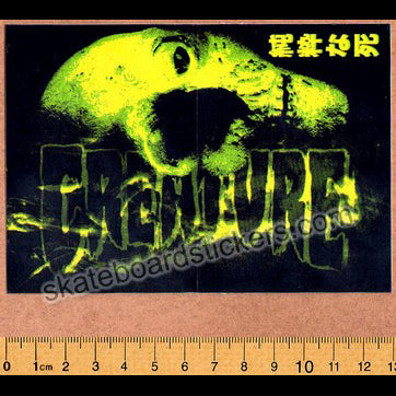 Creature Skateboard Sticker - Mutant