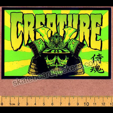 Creature - Soul Servant Skateboard Sticker