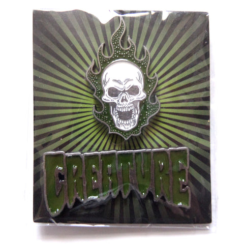 Creature Bonehead Logo Push Back Pin Set of 2