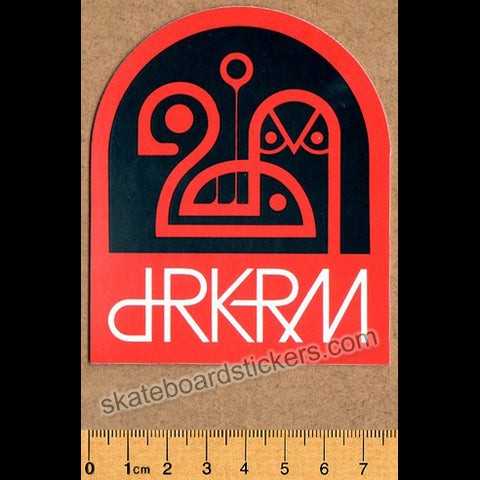 dRKRM / Darkroom Skateboard Sticker