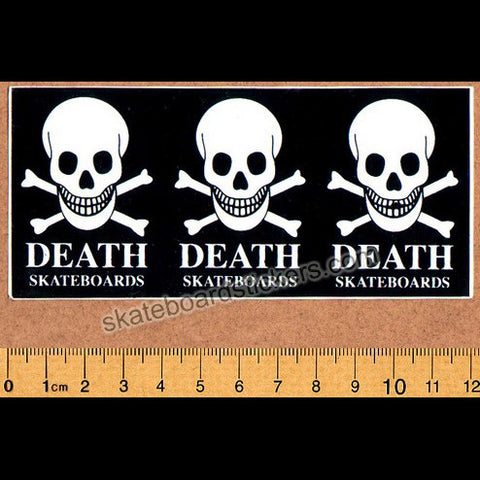 Death Skateboards Skateboard Sticker - SkateboardStickers.com