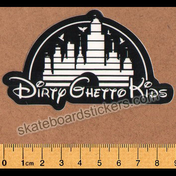 DGK / Dirty Ghetto Kids Skateboard Sticker - Kingdom