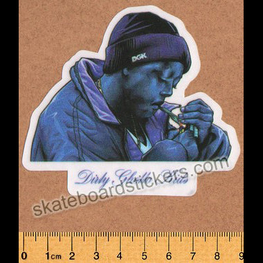 DGK / Dirty Ghetto Kids Skateboard Sticker - Spark It