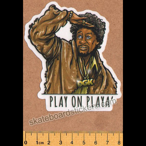 DGK / Dirty Ghetto Kids Skateboard Sticker - Play on Playa'