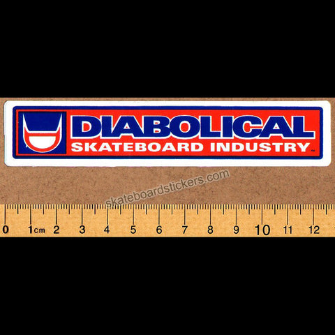 Diabolical Skateboard Industry Skateboard Sticker