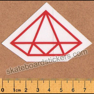 Diamond Supply Co. Rock Logo Skateboard Sticker