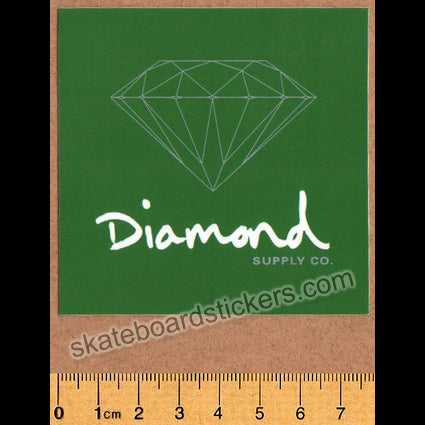 Diamond Supply Co. OG Sign Skateboard Sticker