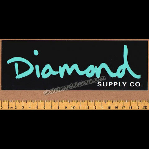 Diamond Supply Co. OG Script Skateboard Sticker