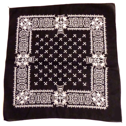Dogtown Bandana Black - SkateboardStickers.com