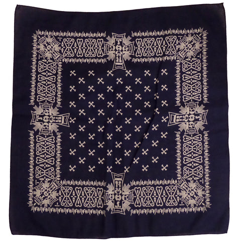 Dogtown Bandana Blue - SkateboardStickers.com