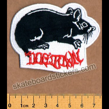 Dogtown Skateboard Patch - Rat