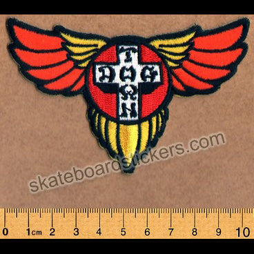 Dogtown Skateboard Patch - Wings