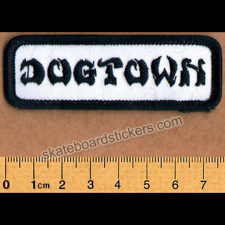 Dogtown Skateboard Patch - Work