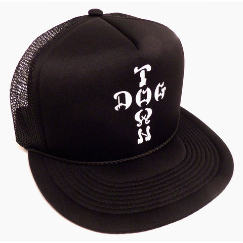 Dogtown Hat Mesh Cap Flip Cross Letters - SkateboardStickers.com