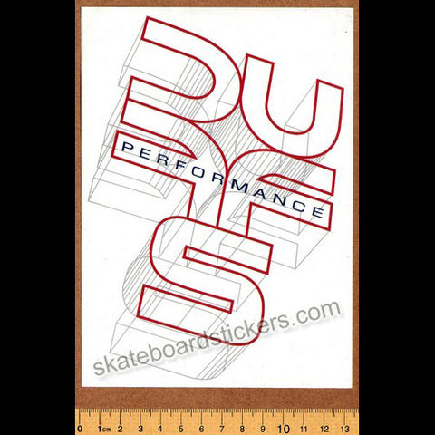 Duffs Skateboard / BMX Shoes Sticker
