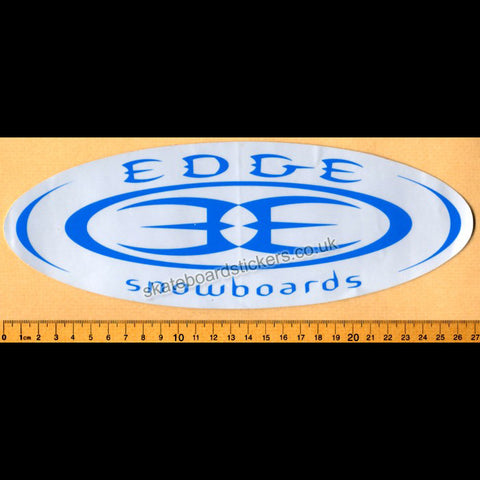 Edge Snowboard Sticker - SkateboardStickers.com