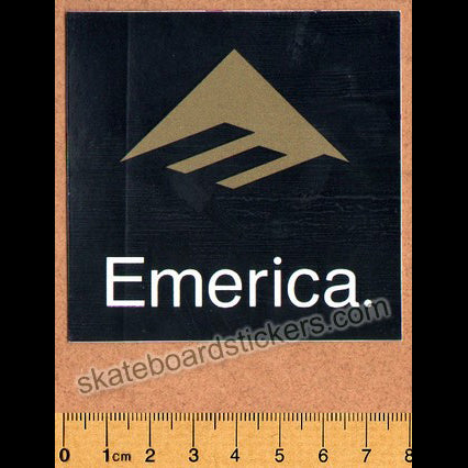 Emerica Shoes Skateboard Sticker