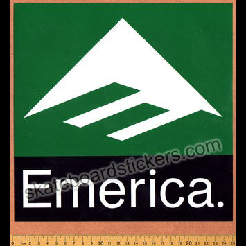 Emerica Shoes Skateboard Sticker - Large