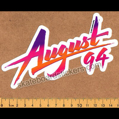 Enjoi August 1994 Skateboard Sticker