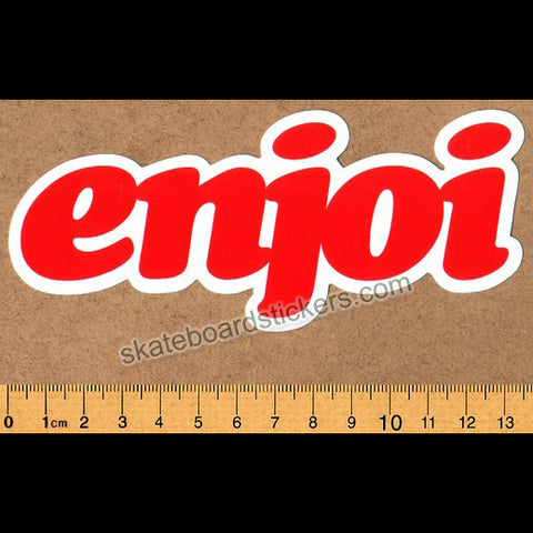 Enjoi Skateboards - Seventies Logo Skateboard Sticker
