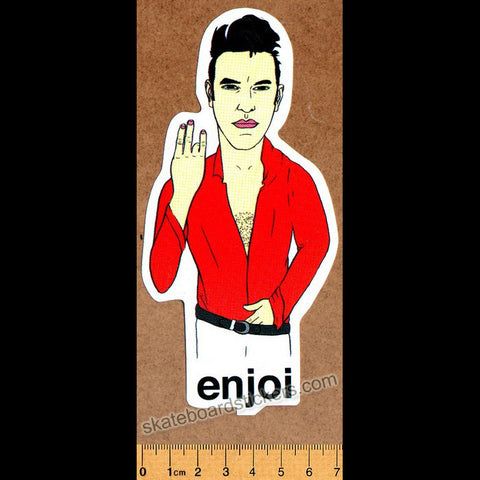 Enjoi Morrisey Skateboard Sticker - SkateboardStickers.com