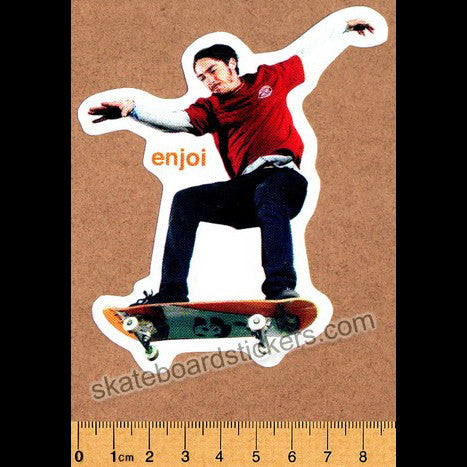 Enjoi Sk8 or Die Skateboard Sticker - SkateboardStickers.com