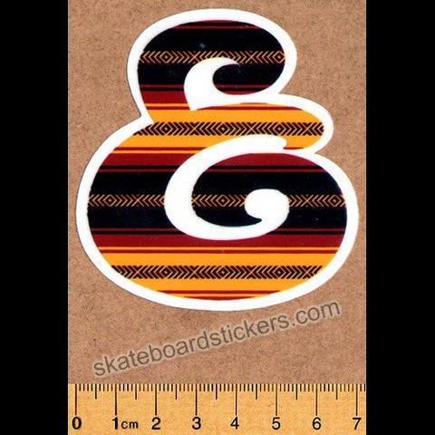 Expedition One - Drug Rug Skateboard Sticker - SkateboardStickers.com
