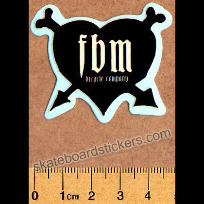 FBM Bike Co. BMX Sticker