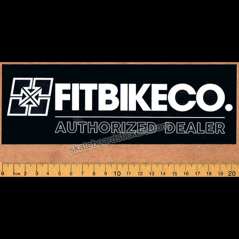 Fit Bike Co. Authorized Dealer BMX Sticker