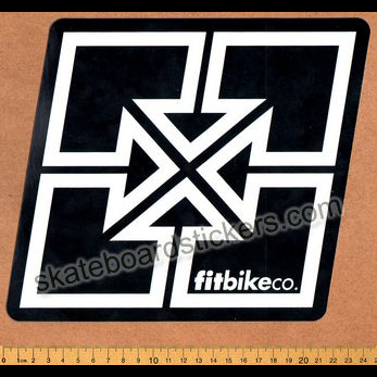 Fit Bike Co. BMX Sticker