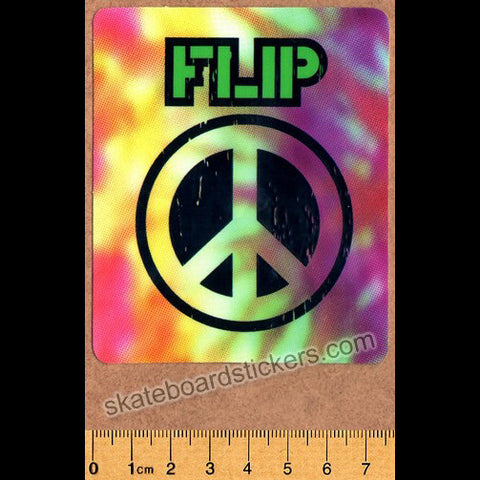 Flip Skateboard Sticker - Peace