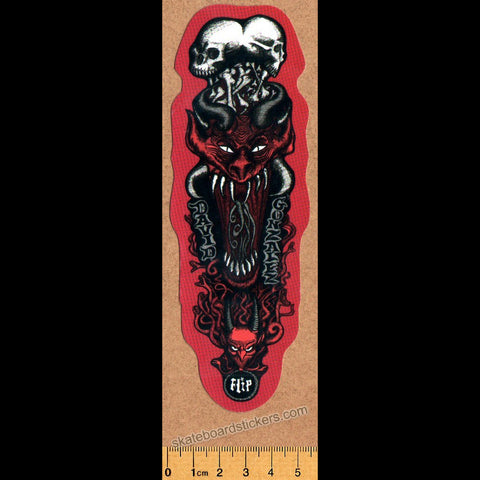 Flip Skateboard Sticker - David Gonzalez