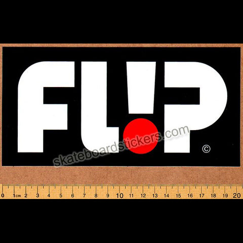 Flip Odyssey Skateboard Sticker - Big Black