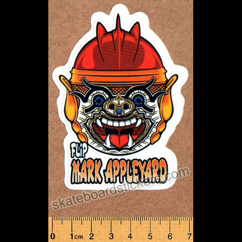 Flip Skateboard Sticker - Mark Appleyard